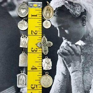 Vintage Jewelry - Vintage Religious medal bundle # 2